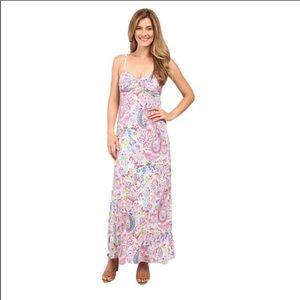 BNWT Tommy Bahama Palais Paisley Strapless Dress